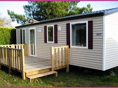 Photo for Camping Boutinardière **** - Mobile Home 4 Rooms 6 people