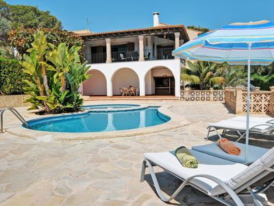 Photo for 3 bedroom Villa, sleeps 6 in s'Horta with Pool, Air Con and WiFi