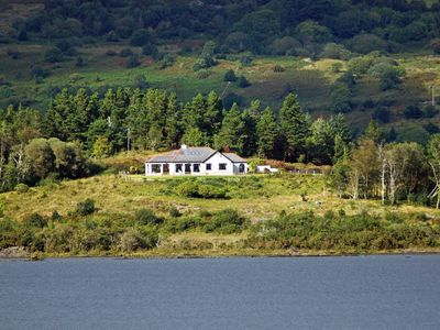 Photo for Fine detached bungalow in exceptional location on Lough Corrib with spectacular southerly view…