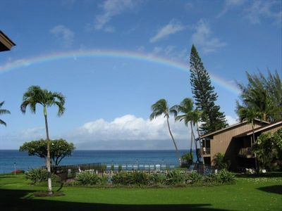 'Somewhere Over the Rainbow', you will Find Polynesian Shores!!