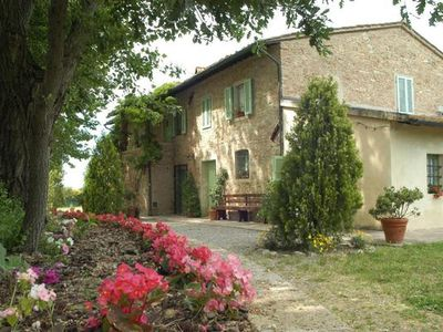Photo for Holiday apartment Capannoli for 3 - 4 persons with 2 bedrooms - Farmhouse