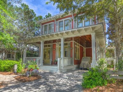 Photo for Beautiful 3 Bedroom Home- Steps away from the Watercolor Camp Pool & Green