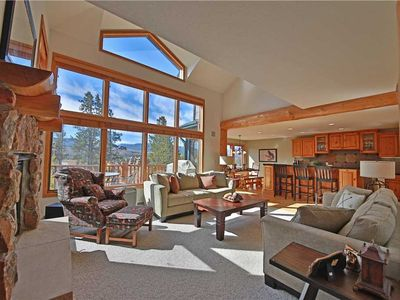 Photo for Sensational townhome with two porches, relaxing hot tub, two separate living areas