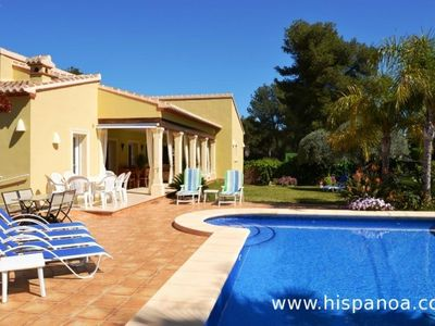 Photo for Nice large villa with private pool in Javea on the Costa Blanca