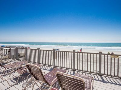 Photo for 1st Floor Oceanfront 2 Bedroom - Free Water Park, Aquarium, Golf & More Every Day! HE 103