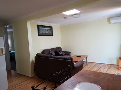 Photo for Cosy, fully self-contained lakefront 2 bedroom apartment