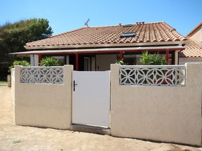 Photo for Nice corner house  for 5, at only 100m from the Sea of Portiragnes plage