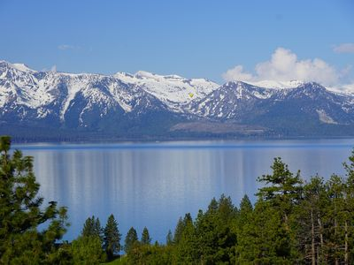 Photo for Air Conditioned Modern Luxury Rental w/ HEAVENLY & Lake Tahoe Views + Hot Tub (P