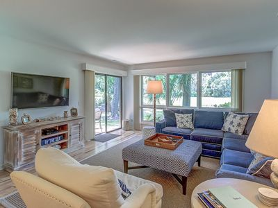 Photo for 806 Tennismaster - Beautiful golf course views! Minutes to the beach & tennis