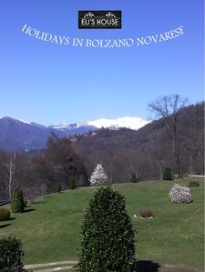 Photo for Holiday in Bolzano Novarese in an old manor house.