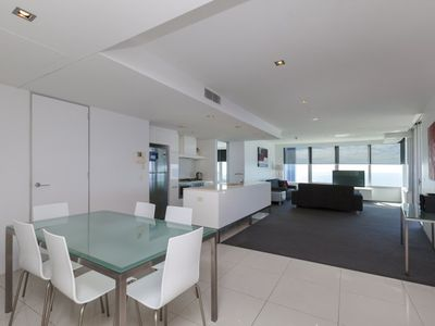 Photo for Ocean Vista Luxury Two Bedroom Apartment with Spa Bath at Q1 Resort & Spa