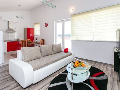 Photo for Apartment in Kupari with Air conditioning, Parking, Balcony (309702)