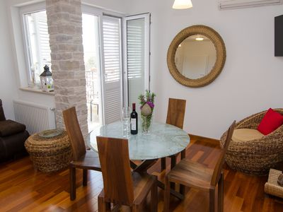 Photo for Villa Kos - A-7, Apartment for 2-5, with Swimming pool (4+1)