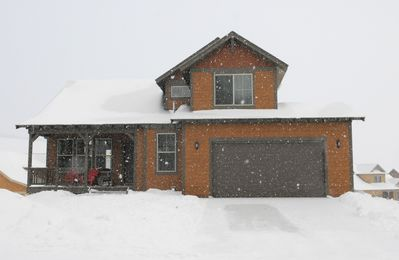Photo for Beautiful 5 bedroom ski-in/ski-out Mountain House