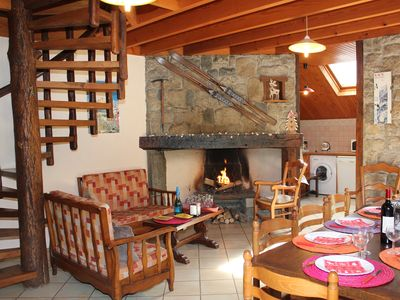 Photo for Chalet CAUTERETS, 9 persons, 4 rooms 200 m from the center, 400 m from the ski lift.
