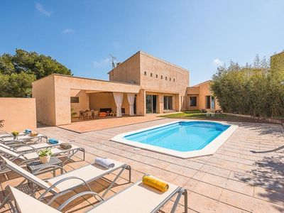 Photo for 3 bedroom Villa, sleeps 6 in Son Servera with Pool, Air Con and WiFi