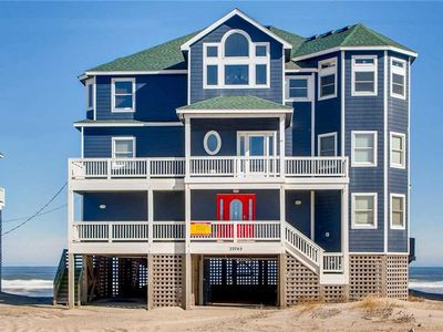 Photo for Beach Lovers Dream! Oceanfront Mirlo Beach-Elevator, Hot Tub, Game & Theater Rms