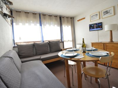 Photo for Studio 4 people, direct access to the slopes, Les Fontanettes