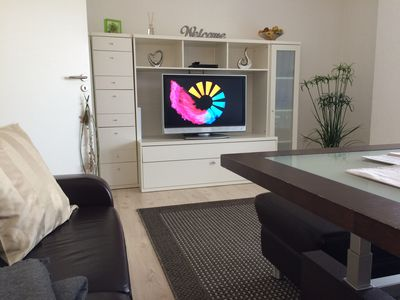 Photo for Exclusive facilities in 65 square meters of living space spread on to a living room (au