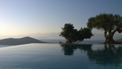 Photo for Villa with swimming pool with panoramic views: Spinalonga Mirabello bay Elounda