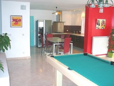 Photo for Villa with pool - billiards