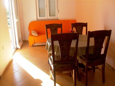 Photo for Apartment4+2-new,fully equipped. 30 meters from the sea! 1km from NP Paklenica