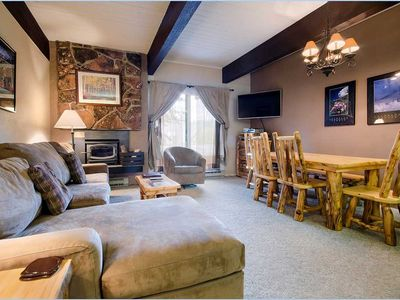 Photo for CB216 by Mountain Resorts: Charming Ground Floor Condo with Pool! Access to hiking!