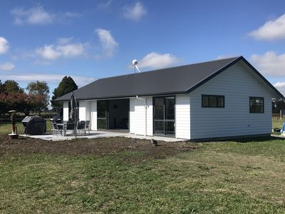 Photo for Newly built 3 bedroom home close to Mystery Creek