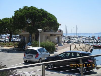 Photo for Very nice apartment Renovated2018 & garden, Port Carqueiranne face for 4 p maxi