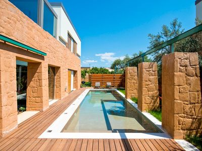 Photo for A fusion of Greek and Italian design, Villa Aeolus is a masterpiece of modern architecture, set in t