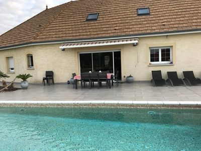 Photo for Beautiful suite with swimming pool: in the heart of Burgundy at 12min of chalon on SAONE