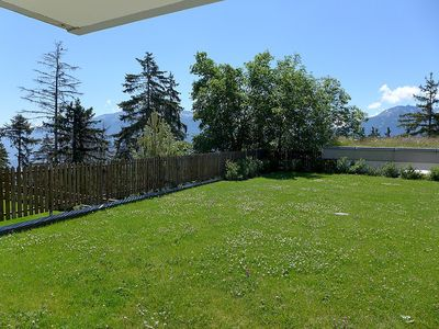 Photo for Apartment 13 m from the center of Randogne with Lift, Parking, Washing machine, Terrace (49803)