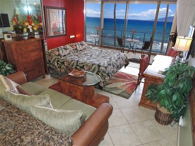 Photo for Mahana Luxury Oceanfront King Studio - Next to the Boardwalk! - PLEASE READ NOTES BELOW CALENDAR FOR IMPORTANT BOOKING INFO