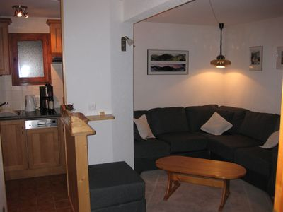 Photo for Spacious apartment with fantastic views, skiing and walking, Chatel