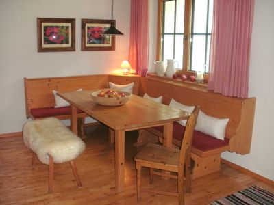 Photo for sunny unobstructed location 70m² Apartment very cozy Tyrolean-style