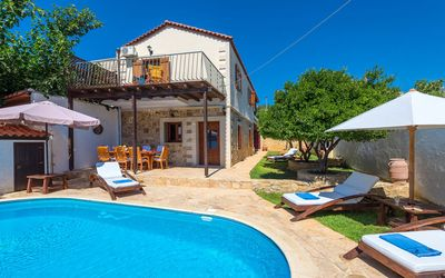 Photo for A Traditional, Hospitable 3-Bedroom Villa With A Private Pool
