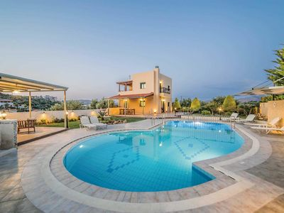 Photo for 3 bedroom Villa, sleeps 6 in Agia Roumeli with Pool, Air Con and WiFi