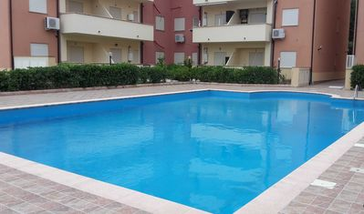 Photo for Ground Floor Two Bed Apartment with Large Communal Pool