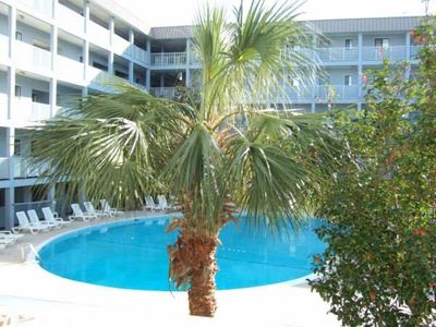 Building 1 is closest to the ocean and features HHR main outdoor pool.