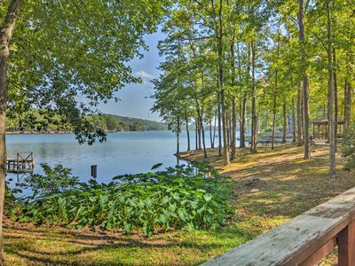 Photo for Private Lakefront Townhome in Hot Springs Village