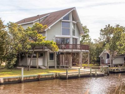 Photo for Great for Boat Owners! Canalfront Frisco-Dock & Ramp, HotTub, Ice Machine, Grill