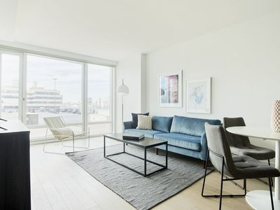 Photo for Airy 1BR in Hell's Kitchen by Sonder