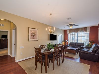 Photo for NBeautiful Windsor Hills Condo! 3 bdrm (2 king). As close to Disney as you can