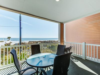 Photo for Spacious condo with great views of the ocean, beach, and dune!