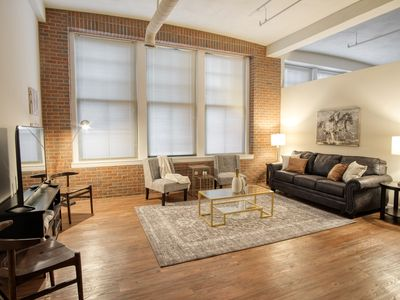 Photo for Extraordinary Loft Condo in Heart of Downtown Indy