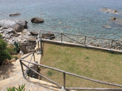 Photo for Villa Ylenia - Villa with direct access to the sea and large garden