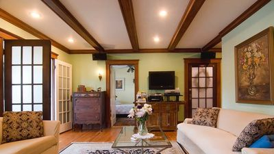 Photo for STUNNING RENOVATED SUNNY 1400SF 4 BEDROOM VICTORIAN STYLE APARTMENT FREE PARKING