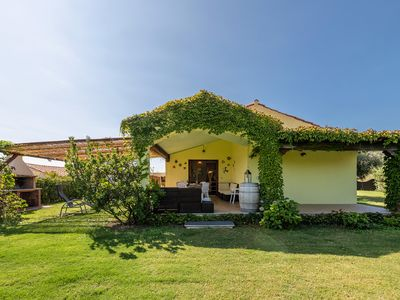 Photo for Villa with garden 400 m. from the beach