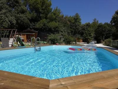 Photo for Following the Drôme Provençale with swimming pool