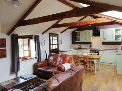 Photo for 2 bedroom barn conversion in beautiful countryside